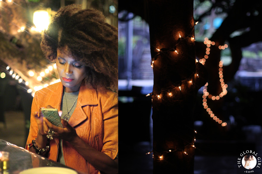 The Global Girl Travels: Ndoema dining at the Hyatt Regency Yogyakarta's restaurant, Kemangi Bistro,  in the island of Java, Indonesia.