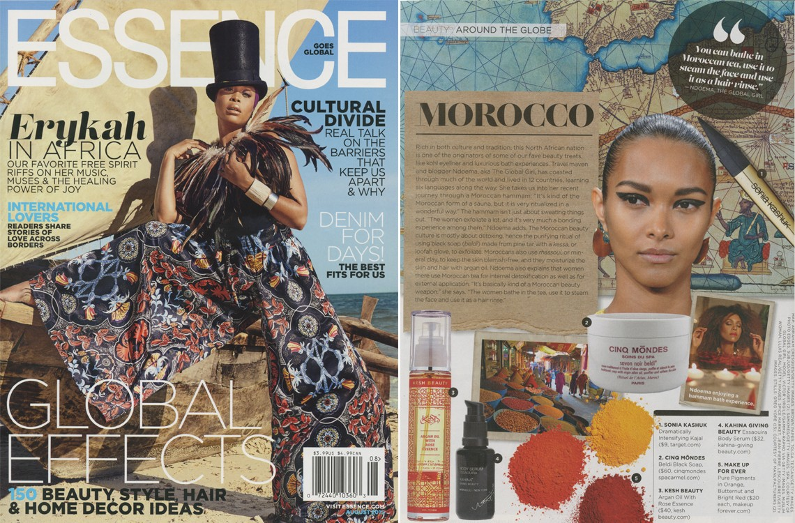 Essence Magazine's Inaugural Global Issue