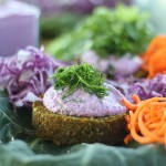 Raw Vegan Carrot & Dill Burgers