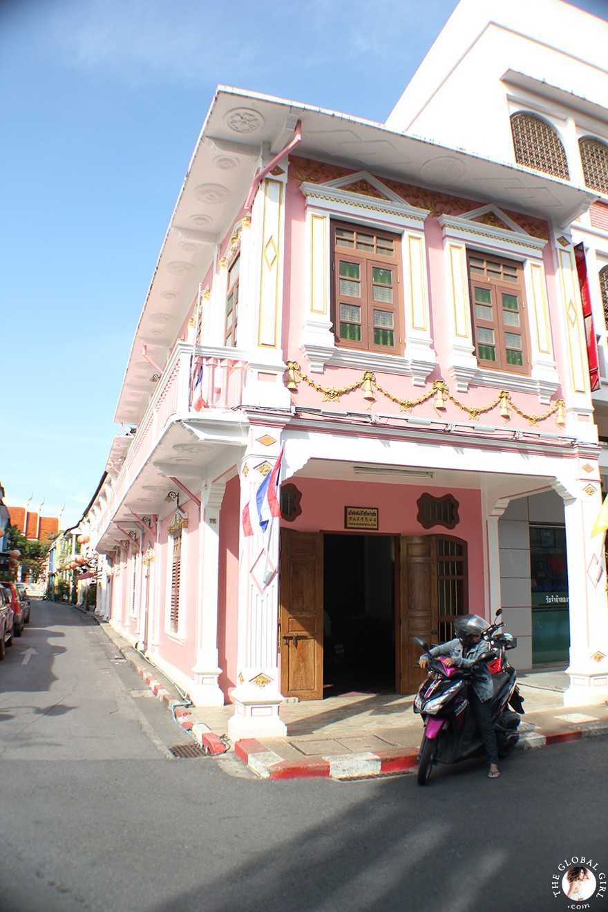 The Global Girl Travels: Strolling through Old Phuket Town, Southern Thailand.