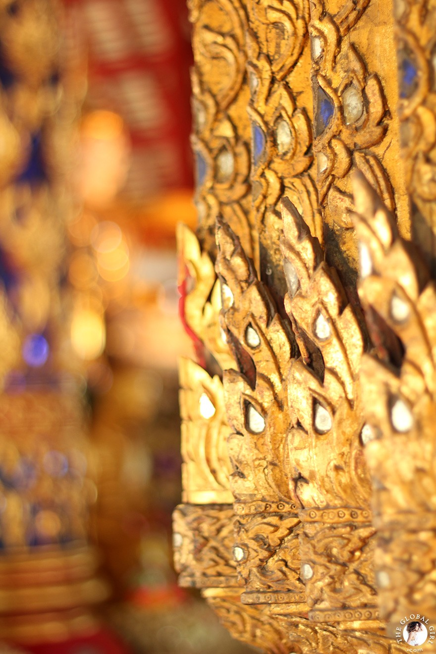 The Global Girl Travels: The Royal Temple of Wat Suan Dok in Chiang Mai. One of Thailand's most beautiful sacred sites.