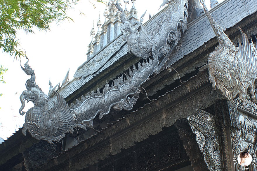 The Global Girl Travels - Thailand: Wat Sri Suphan, one of Chiang Mai's most spectacular sacred sites.