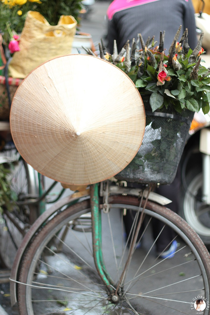 The Global Girl Travels: The Old Quarter in Hanoi, Vietnam.