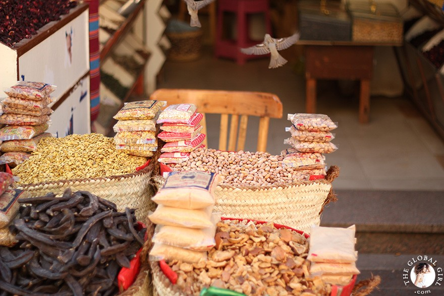 The Global Girl Travels: Sharia el Souk in Aswan, Egypt.