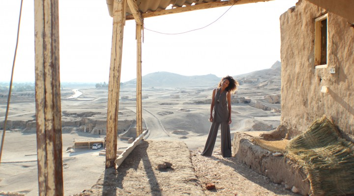The Global Girl Travels: Ndoema at the Valley of the Kings in Luxor, Egypt.