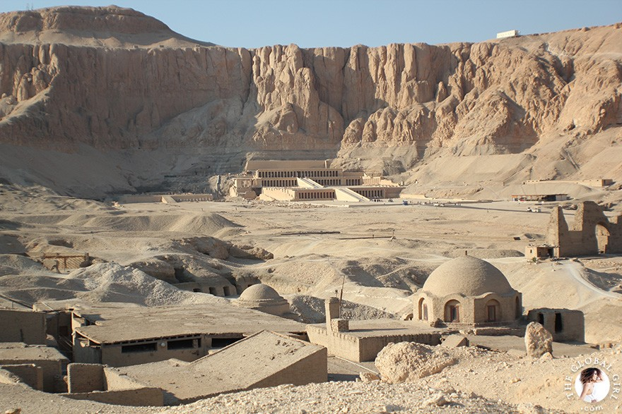 The Global Girl Travels: The Valley of the Kings in Luxor, Egypt.