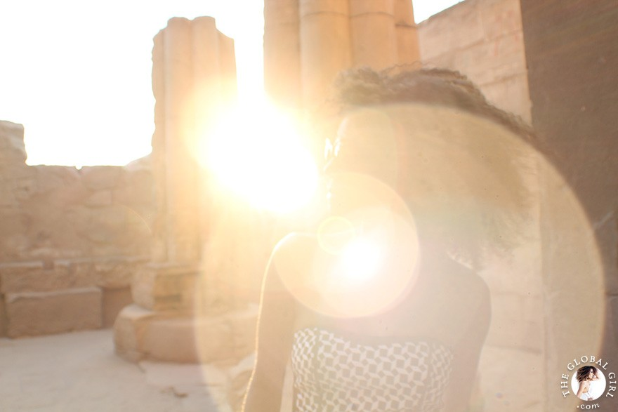 The Global Girl Travels: Luxor Temple, Egypt.