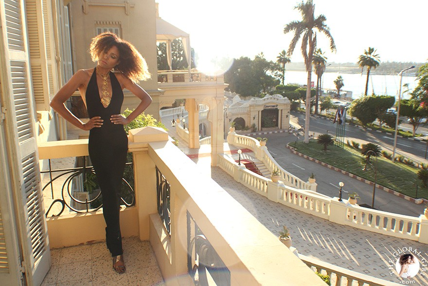 The Global Girl Travels: Ndoema at The Sofitel Winter Palace luxury hotel in Luxor, Egypt.