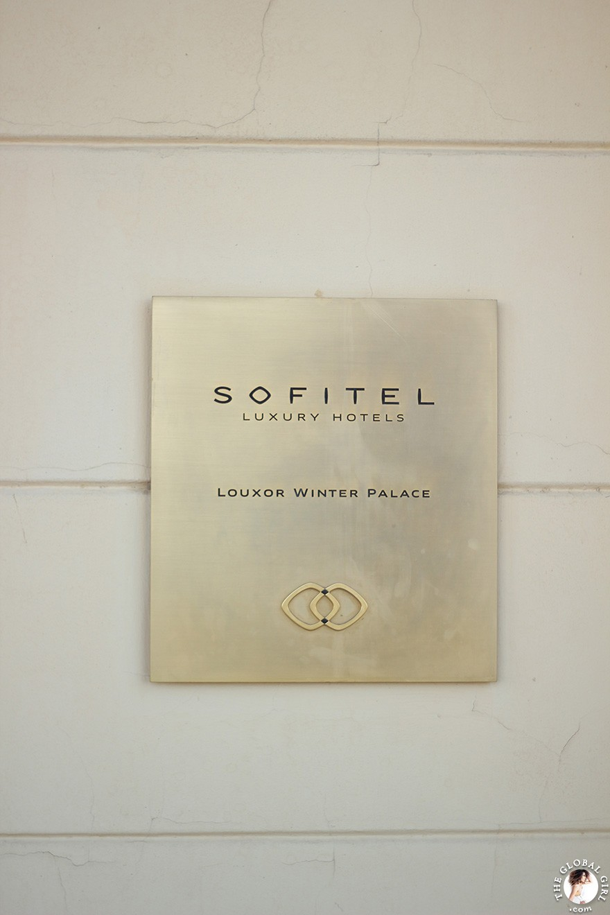 The Global Girl Travels: The Sofitel Winter Palace luxury hotel in Luxor, Egypt.