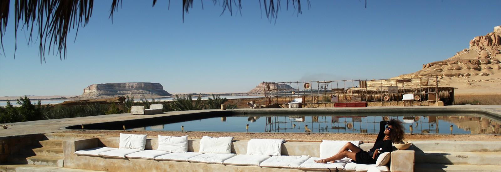 Eco-Chic Living at Siwa Oasis