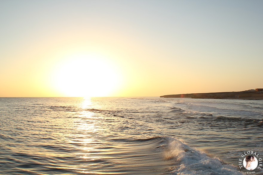 The Global Girl Travels: Beautiful sunrise on the Red Sea in Marsa Alam, Egypt.