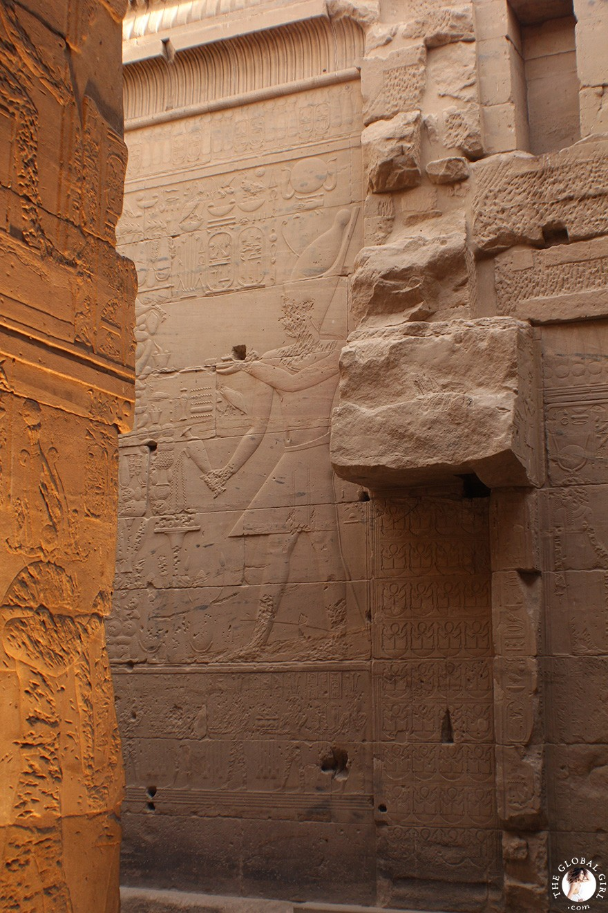 The Global Girl Travels: The Philae Temple in Aswan, Upper Egypt (Nubia).