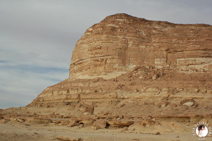 The Global Girl Travels: Adrère Amellal luxury eco-friendly desert resort at Siwa Oasis, Egypt.