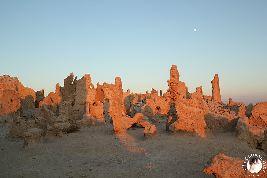 The Global Girl Travels: Shali Ghadi, the spectacular 13th-century fortress at Siwa Oasis, Egypt.