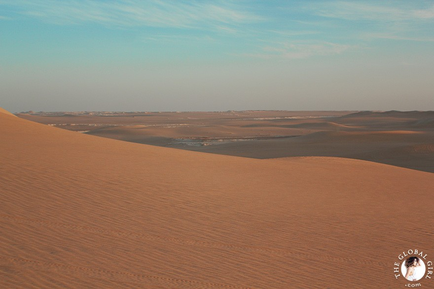 The Global Girl Travels: Safari in the Libyan desert - Sahara, North Africa.
