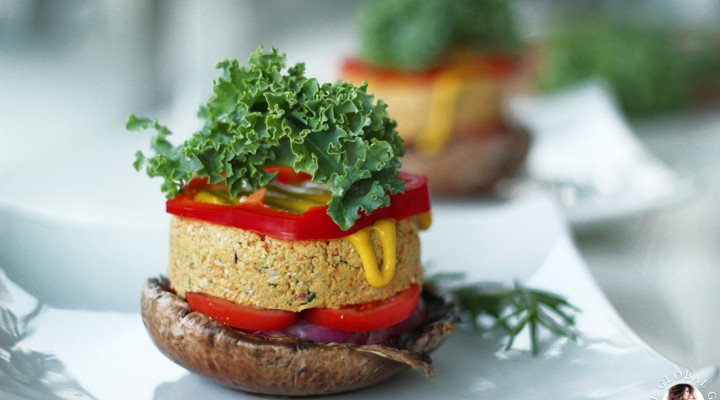 Raw sandwiches wraps the global girl raw vegan portobello mushroom burgers forumfinder Image collections