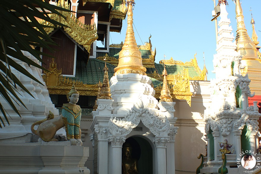 The Global Girl Travels: Shwedagon Pagoda in Yangon, Burma.