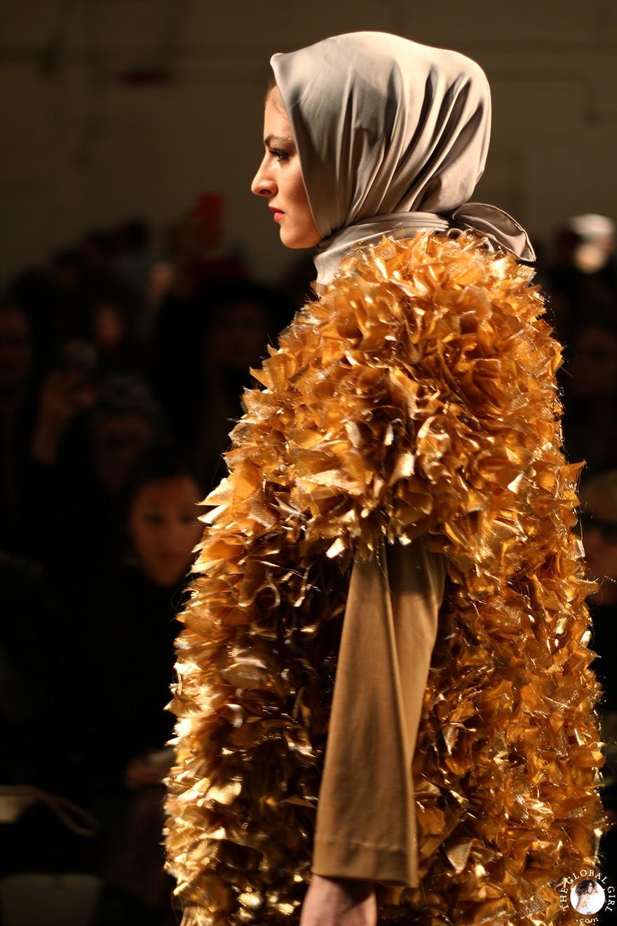 Front Row with The Global Girl: New York Fashion Week - Indonesian Designer Anniesa Hasibuan Fall/Winter 2017 Runway Show