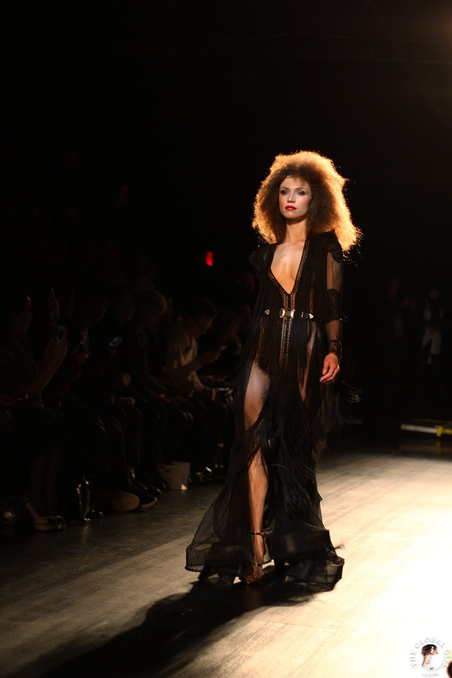 Front Row with The Global Girl: New York Fashion Week - Michael Costello Fall/Winter 2017 Runway Show