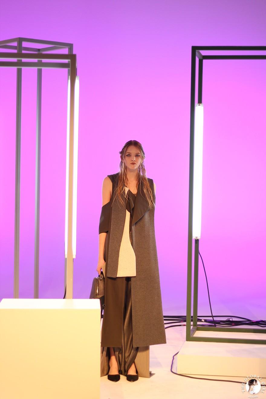 Front Row with The Global Girl: New York Fashion Week - Lujin Zhang Fall/Winter 2017 Runway Show