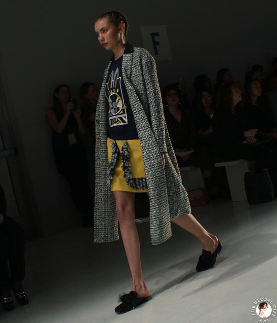 Front Row with The Global Girl: New York Fashion Week - Hong Kong Designers Cynthia Mak and Xiao Xiao Fall/Winter 2017 Runway Show