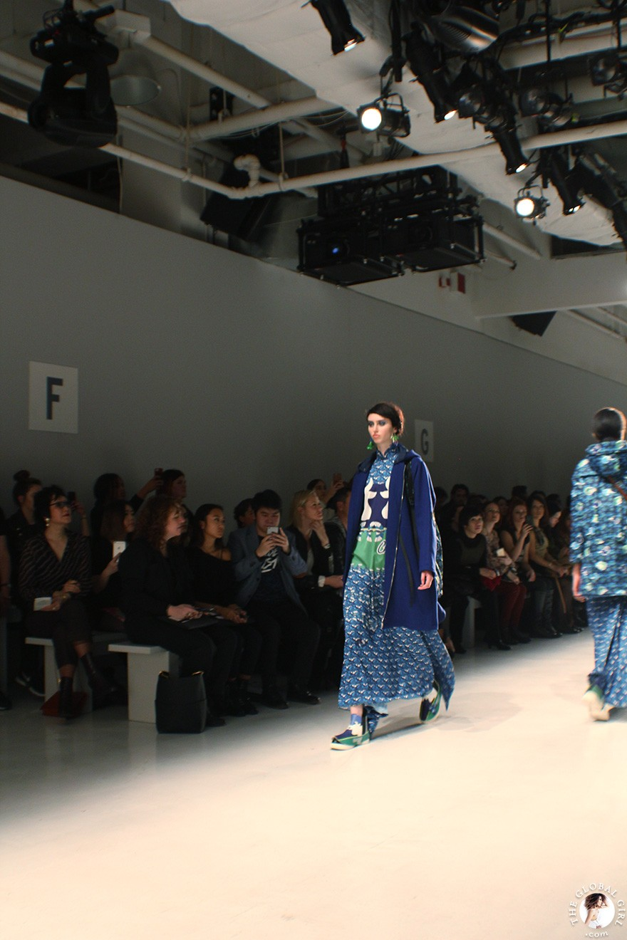 Front Row with The Global Girl: New York Fashion Week - Hong Kong Designer Loom Loop Fall/Winter 2017 Runway Show
