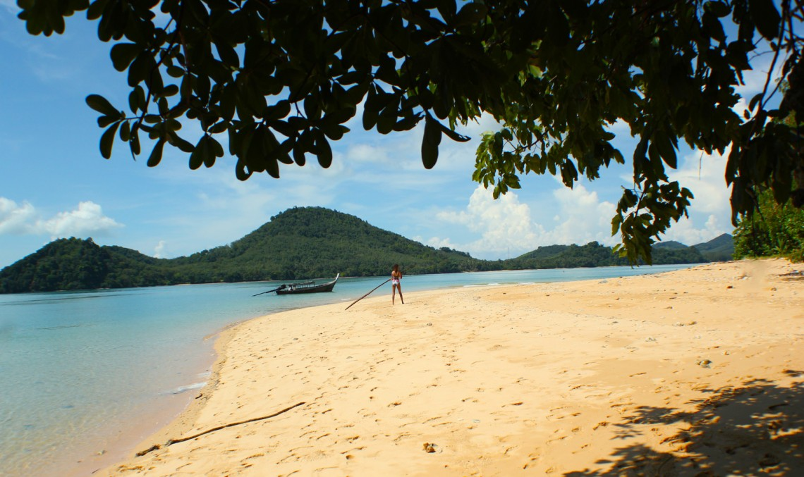 The Global Girl Travels: Khai Nok Island Beach in the Andaman Sea, Southern Thailand