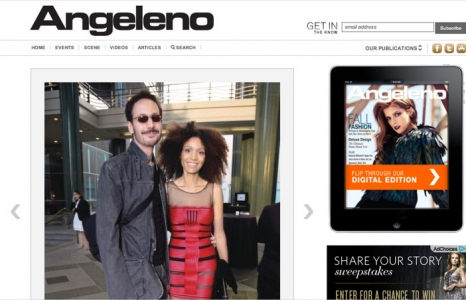Ndoema destaque na Revista Angeleno