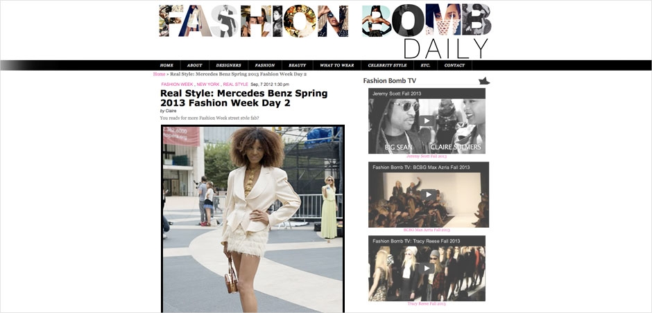 Fashion bomb daily the global girl 174