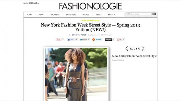 Fashionologie - Ndoema arrives at Lincoln Center during New York Fashion Week