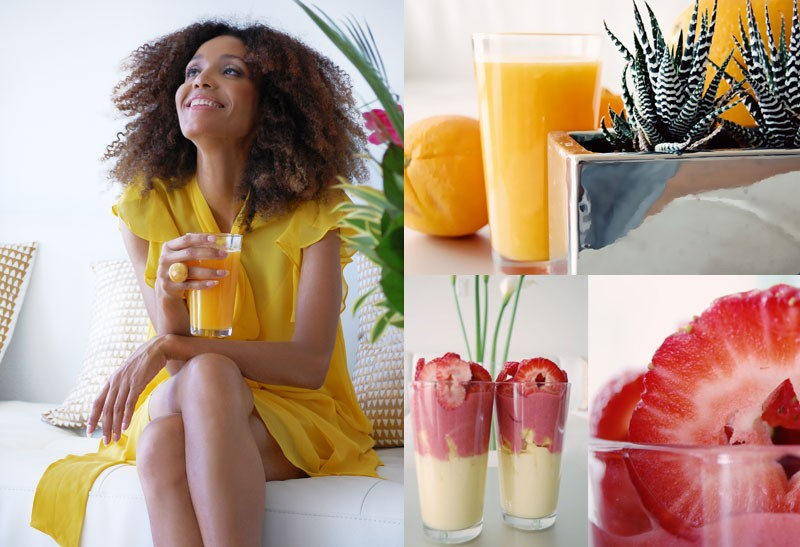 Ndoema The Global Girl is interviewed by Live Healthy Simply about her raw vegan frutarian diet and the health benefits she has received transitioning from a cooked vegan to a raw vegan diet.