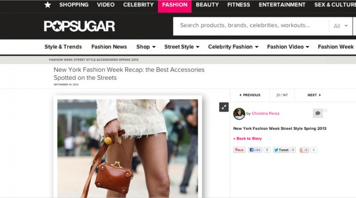 Ndoema The Global Girl in Fashionologie's New York Fashion Week Best Accessories feature