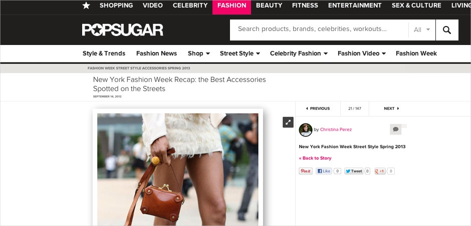 Ndoema The Global Girl in Fashionologie's New York Fashion Week Best Accessories feature