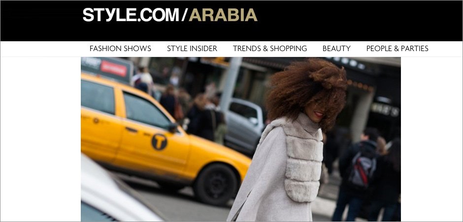 (English) Style.com/Arabia