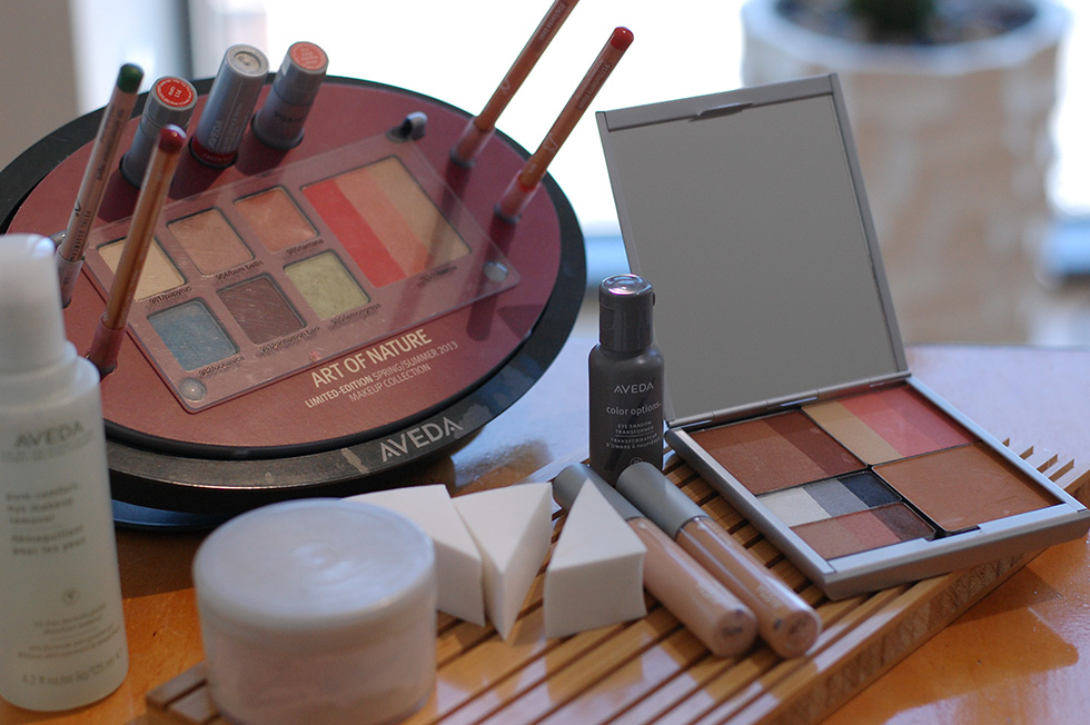The Global Girl Fashion Cinema Series: Getting red carpet ready with Aveda plant-based makeup line