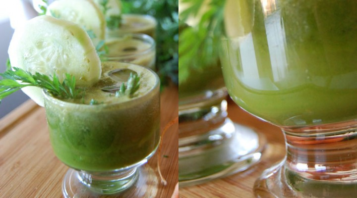 Cucumber/Spinach Green Juice