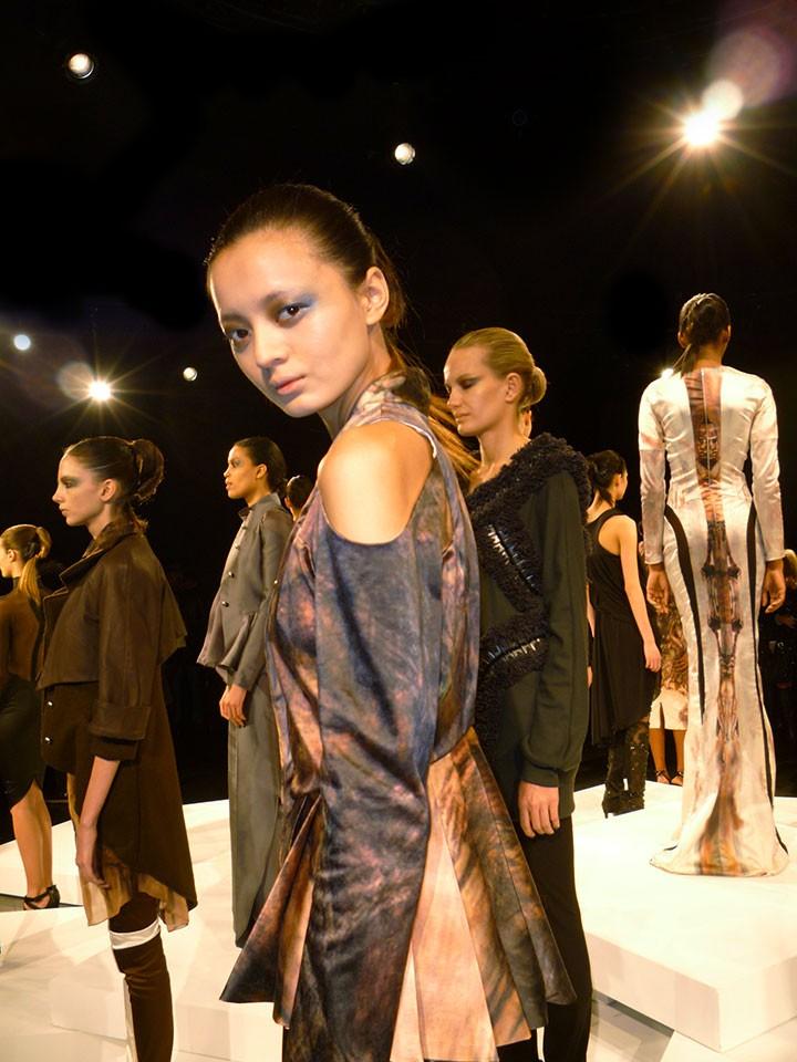 The Global Girl: Hernan Lander Fall 2013 Collection presentation during New York Fashion Week
