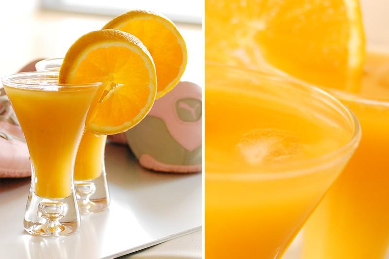 Post-Workout Mango/Orange Juice