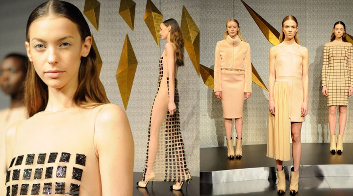 The Global Girl: Mathieu Mirano Fall 2013 Collection - New York Fashion Week