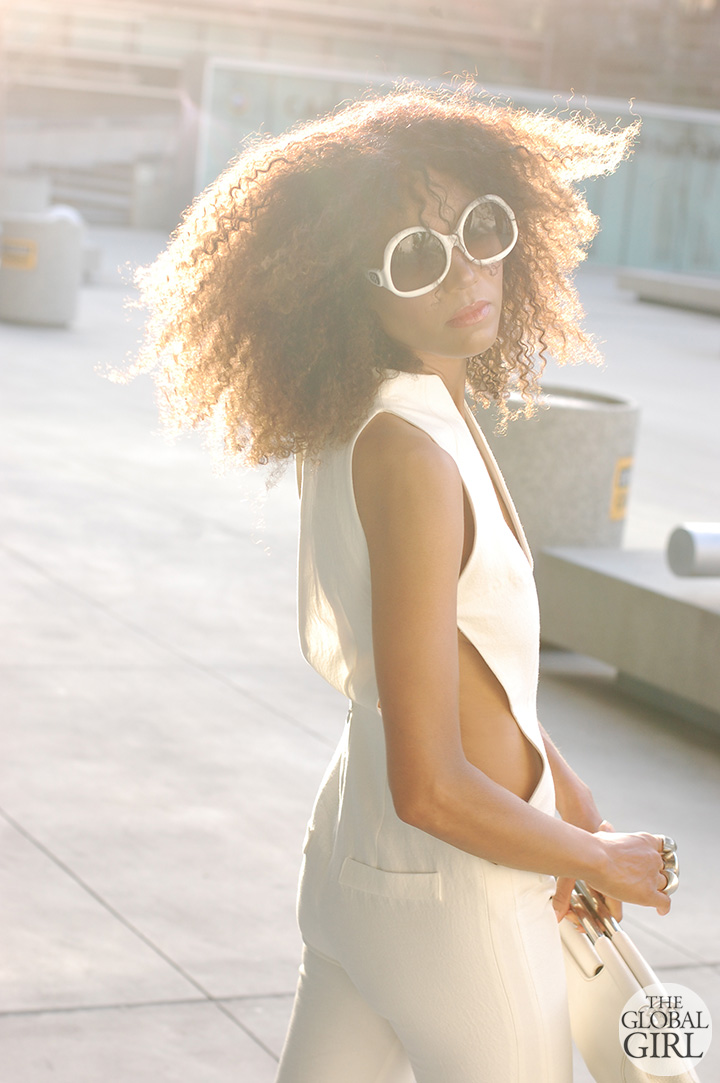 the-global-girl-theglobalgirl-ndoema-all-white-look-cutout-jumpsuit-balenciaga-sunglasses