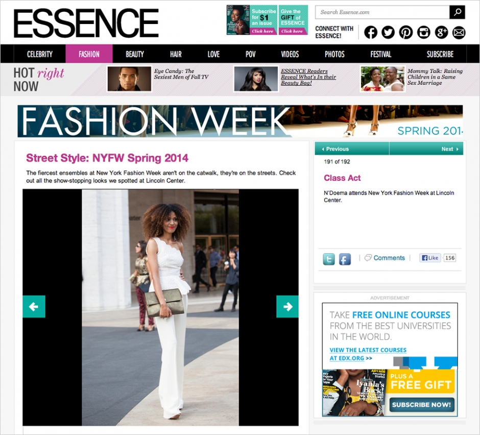 Essence magazine the global girl for Essence magazine recipes