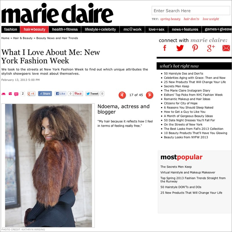 the-global-girl-theglobalgirl-ndoema-marie-claire-magazine-beauty-hair-new-york-fashion-week