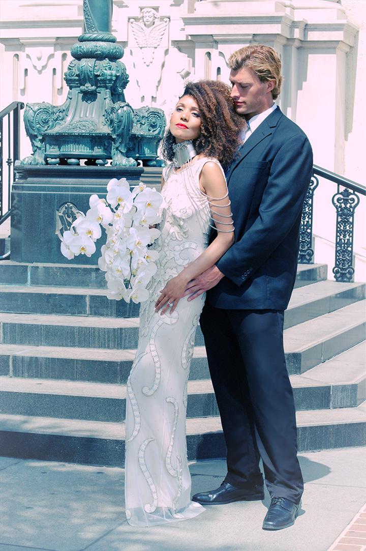 the-global-girl-theglobalgirl-ndoema-monika-chiang-bridal-wedding-beaded-gown-dress-swarovski-crystal-encrusted-choker-hairstyle-hair-orchid-flower-chains-4