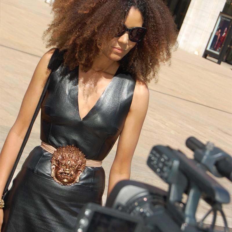 New York Style Sunglasses  the global theglobal ndoema new york fashion week street