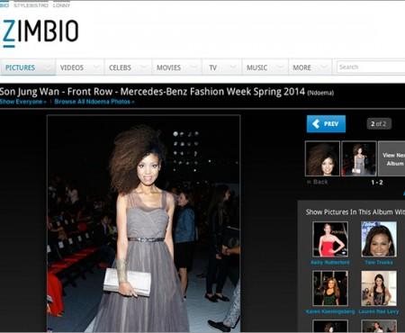 Zimbio | Front Row