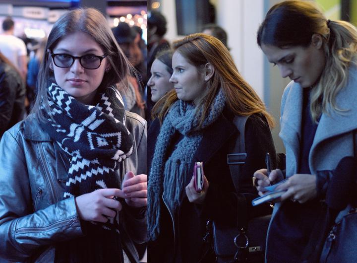 The Global Girl Fashion Week Team: Verena Zannantoni, Megan Burns and Leah Hoffman.
