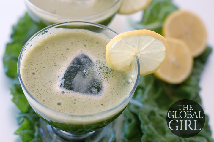 The Global Girl Raw Food Diet: 92-Day Juice Fast - Swiss Chard, Zucchini & Carrot Green Juice Recipe