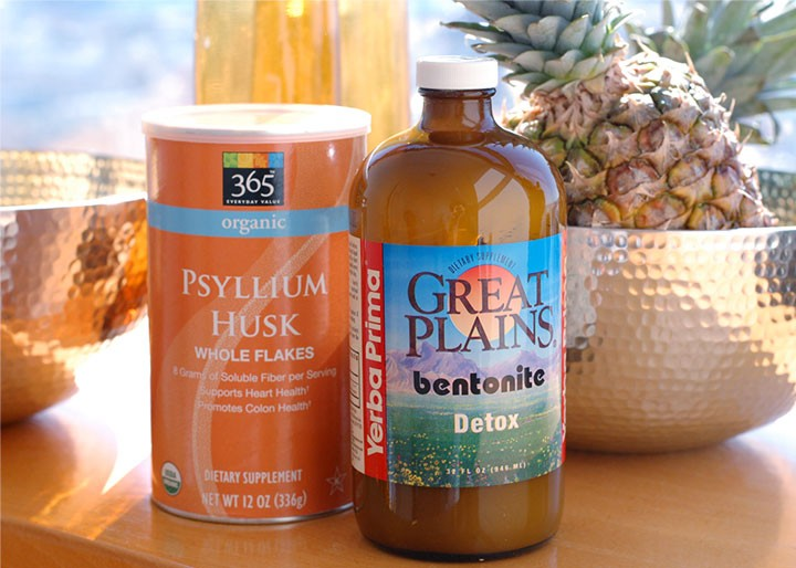The Global Girl: Ndoema shares her colon and liver detox essentials (bentonite clay and psyllium husk shake, cascara sagrada and colonics) and answers a reader's question about how to help the liver & colon eliminate more effectively on a juice fast.