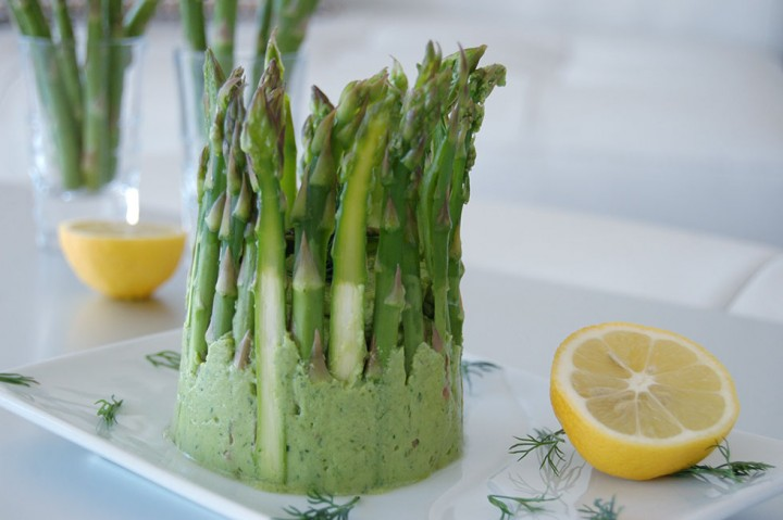Raw Dip w/ Asparagus, Avocado & Dill