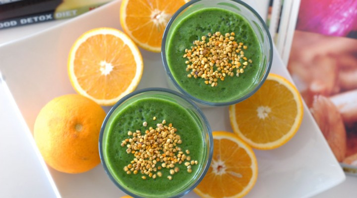 Green Smoothie: Vitamin B Monster
